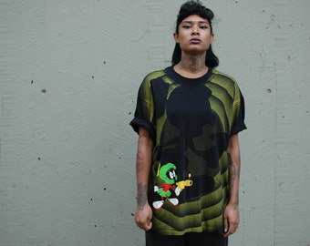 90s Marvin the Martian T-shirt XL