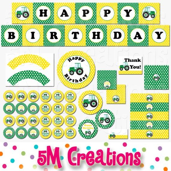 free printable birthday decorations