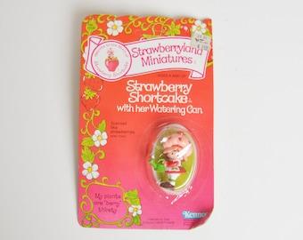 Vintage 80s Strawberry Shortcake Strawberryland Miniature Figurine NRFC