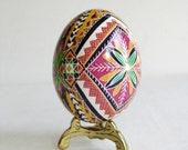 Pysanka chicken egg