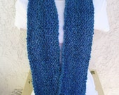 Cozy Comfort Infinity Scarf (Doubles as a Cowl) in Montana Sky (Blue)