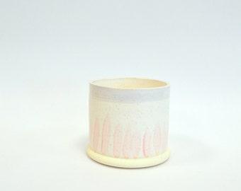 P A S T E L  C O L L E C T I O N : ceramic succulent planter bowl