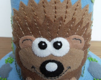 Friendly Hedgehog Pincushion