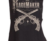 Peacemaker Pistols Muscle Tee