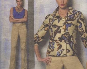 Anne Klein Vogue Pattern American Designer Pattern V1167 Size FF 16 - 18 - 20 - 22 Factory Folded Unused