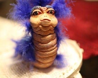 OOAK Custom Made Labyrinth 'Ello Worm