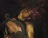 Orpheus, Print from Original Painting