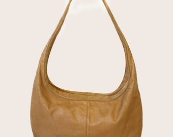 Vintage Rosenfeld Leather Hobo Bag