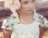 Billie Party Dress size 1-12 (Ainslee Fox Boutique Pattern rockabilly inspired queen anne neckline mandarin collar button front or zip back)