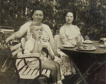 Vintage Photograph - Afternoon Tea