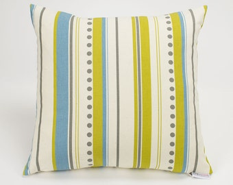 Brook Vertical Stripe Summerland Pillow Cover - 16 inch