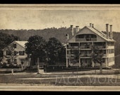 Beautiful Civil War Era CDV Photo of a Large Hotel in New Hampshire