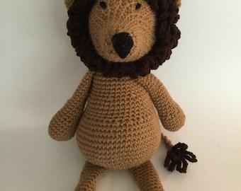 Crochet Amigurumi Lion Plush
