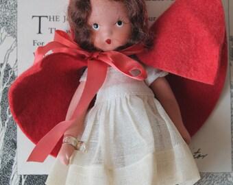 Vintage Nancy Ann Storybook Doll Storybook Series #116 Little Red Riding Hood Vintage Nancy Ann Storybook Doll Little Red Riding Hood