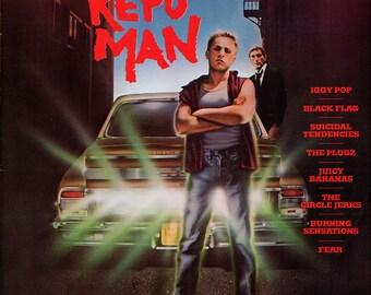 Vintage Repo Man Movie Soundtrack LP Record Album Vinyl 1984 Rare NM