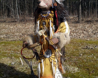 Grizzly Bear Manitou (Spirit or Totem)