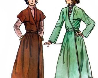 Vogue 9605 Vintage 70s Misses' Dress Sewing Pattern - Uncut - Size 12