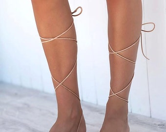 lace up sandals, gladiator sandals, leather sandals,wrap up sandals