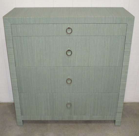Custom Built Grasscloth Dresser- Design Your Own to Suit Your Space