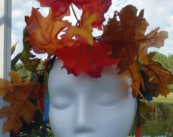 Fall headdress or centerpiece