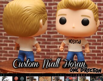 Niall Horan 1D - custom funko pop