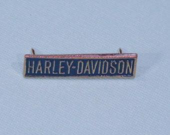 Harley Davidson  Pin  -- Bar with pin clips - Official Harley