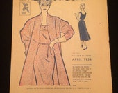 McCall's Pattern Fashion Preview Catalog April 1954