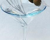 Sterling Silver Cocktail Picks Set of Six Handmade Hor d'Oeuvre Picks Set B