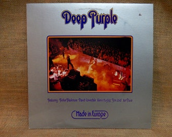 Deep Purple - Made in Europe - 1976 Vintage Vinyl Record Album