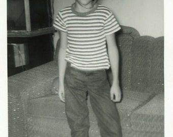 "Vintage Photo ""Mr. Tall Ears"" Head Costume Toy Snapshot Old Antique Photo Black & White Photograph Found Paper Ephemera Vernacular - 118"