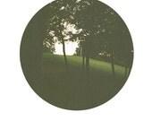 "Through the Trees Circle Print - 8""x12"" Physical Print"