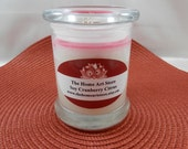 12 Oz Cranberry Citrus Soy Candle - Highly Scented