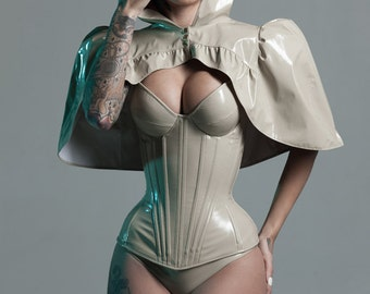 XS Beige PVC underwear from Artifice