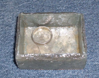Ring tray, small handmade slate ring tray for the sink area. #SO-24