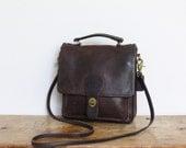 Vintage Coach Station Bag Oxblood // Coach Crossbody Messenger Pre 5130 New York City Purse Handbag