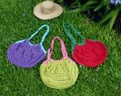 Market Bag Crochet pattern Grocery Tote PDF - tote mesh crochet bag - Instant Download
