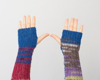 Fingerless gloves Crochet Arm Warmers Crochet fingerless gloves Handmade Crocheted Gloves For Her Fashion Accessories
