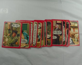 1976 Welcome Back Kotter Trading Cards Topps VINTAGE Collector Card 70s Instant Collection