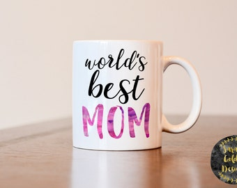 Mothers day gift, Gift for mom, World's best Mom, World's Best Mom mug, Gift for mom mug, Worlds best mom mug, gift from kids to mom