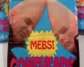 Coneheads Trading Cards- 3 PACKS