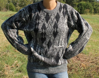 Sweater Knit Vintage Be Free Be You Size Medium