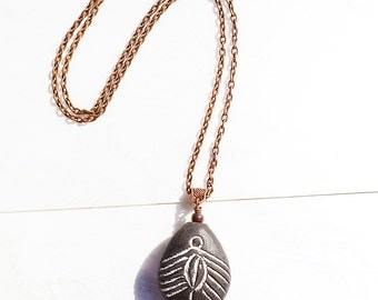 Spider Woman GODDESS Pendant Copper Witchy Necklace