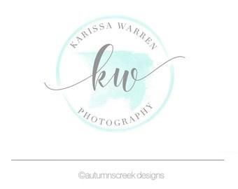 Photography Logo Premade Logo gold logo Logo Design Logo for photographer watercolor Logo Photography Logos and Watermarks photographer logo