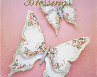 Count Your Blessings Volume 4 Decorative Painting Book, by Chris Thornton, Vintage 1989
