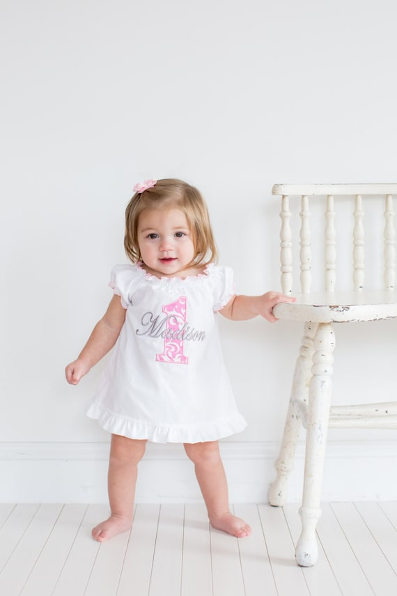 First Birthday Outfit Girl Baby Girl 1st Birthday Outfit 1st