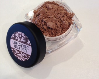 ALMOND BLUSH Organic Light Brownish Gold Shade Blush Beauty Vegan Cruely Free