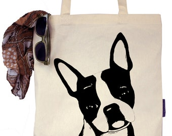 Duke the Boston Terrier - Eco-Friendly Tote Bag