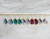 Grop Drop Earrings - Gold Earrings - Dangle Earrings - Drop Earrings