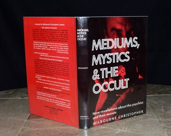 Mediums, Mystics & the Occult - Vintage Esoteric Book - 1975 1st Ed. - Psychic Powers / The Soul / Spirit Photography / ESP - Illustrated