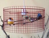 Birdcage Chandelier Pendant Light Lampshade Lamp Lampada